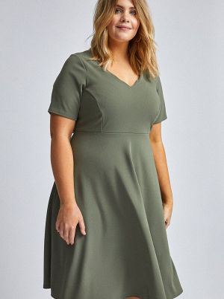 Повседневное платье зеленый весеннее Dorothy Perkins Curve