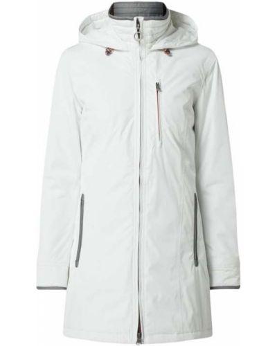 Biała kurtka z kapturem Wellensteyn