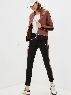 Спортивный коричневый спортивный костюм Bilcee