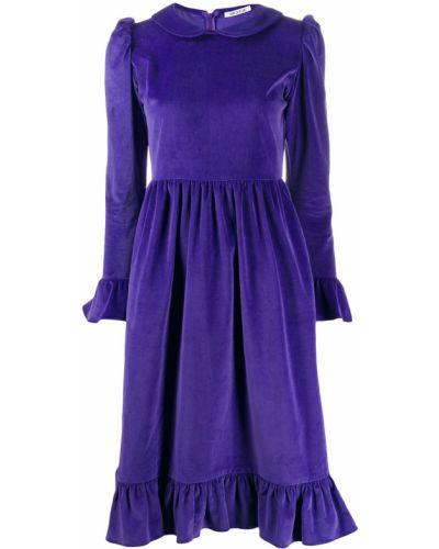 Платье миди макси с отложным воротником Batsheva