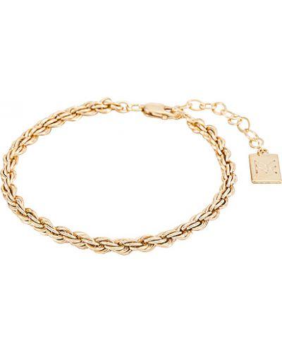 Złota bransoletka ze złota pozłacana Miranda Frye