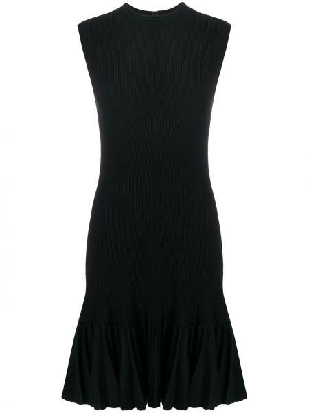 Платье со складками винтажное с оборками без рукавов Alaïa Pre-owned