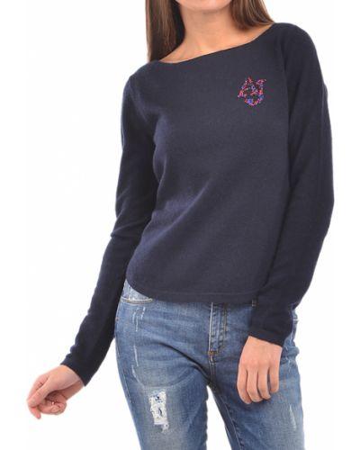 Синий свитер Armani Jeans