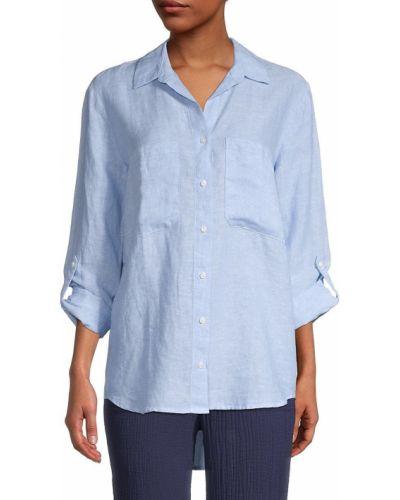 Рубашка с длинными рукавами с воротником с карманами Pure Navy