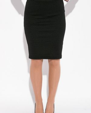 Деловая юбка карандаш с поясом с рукавом 3/4 Time Of Style