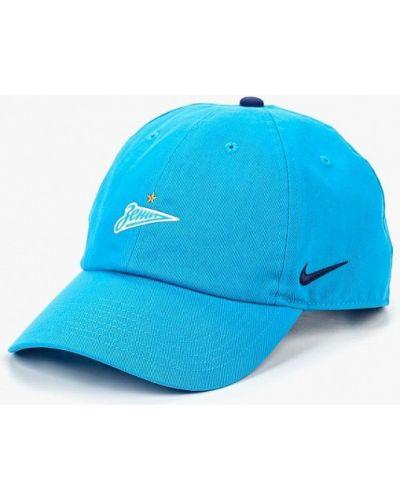 Голубая бейсболка 2018 Nike