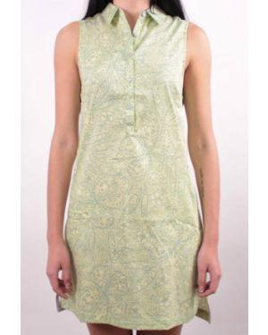 Розовое летнее платье без рукавов Columbia