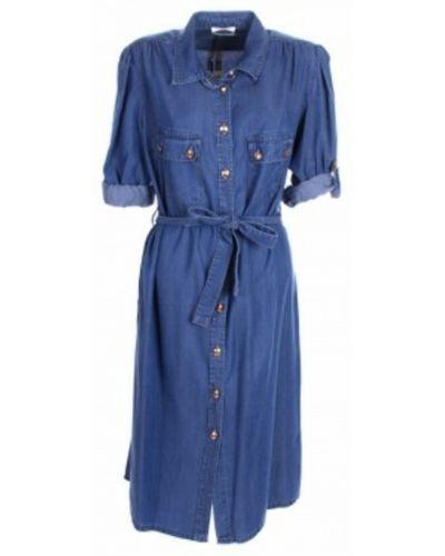 Niebieska sukienka Kocca
