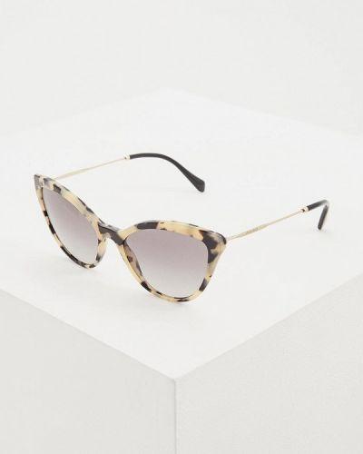 Солнцезащитные очки кошачий глаз 2019 Miu Miu
