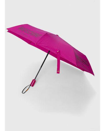 Różowy parasol Moschino