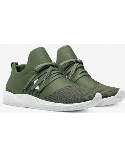 Zielone sneakersy sznurowane Arkk Copenhagen