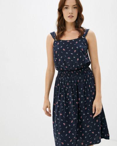Прямое свободное синее платье Finn Flare