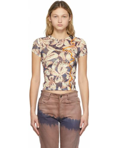 T-shirt krótki rękaw Collina Strada