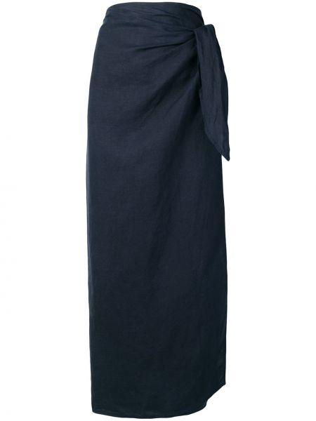 Желтая ажурная юбка макси винтажная Jil Sander Pre-owned