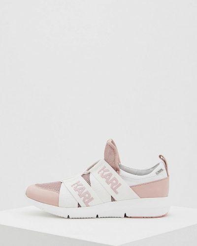 Кроссовки розовый Karl Lagerfeld