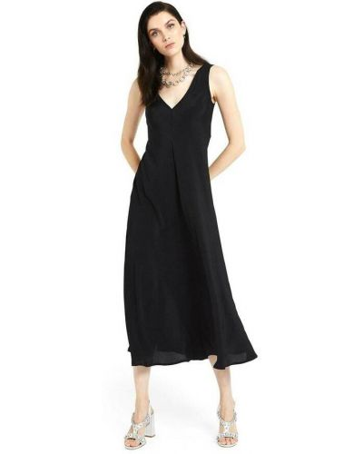 Czarna sukienka długa Ottodame