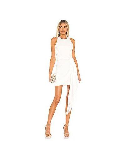 Шелковое белое платье мини с подкладкой Likely