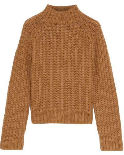 Шерстяной свитер - коричневый Vince.