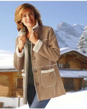 Утепленная куртка замшевая на пуговицах Atlas For Men