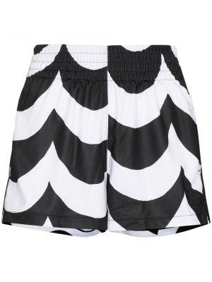 Шорты с карманами - белые Adidas