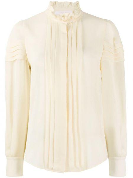 Блузка на пуговицах с манжетами с подкладкой See By Chloé