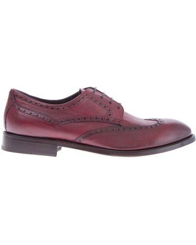 Кожаные ботинки броги итальянский Moreschi