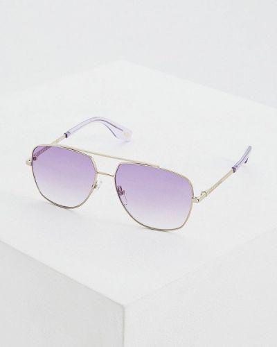 Очки авиаторы солнцезащитные серебряный Marc Jacobs