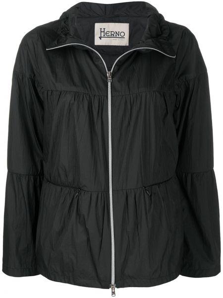 Куртка черная трапеция Herno