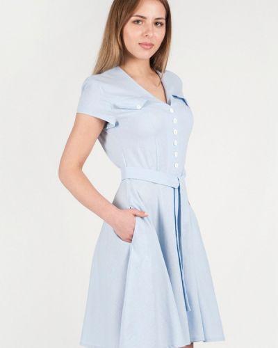 Голубое платье Vergans