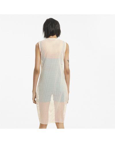 Платье ниже колена - розовое Puma