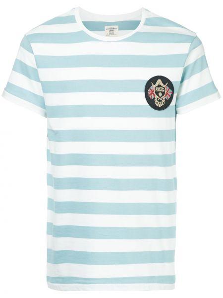 Синяя футболка Kent & Curwen