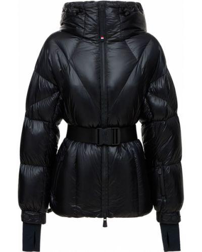 Черная куртка с капюшоном Moncler Grenoble