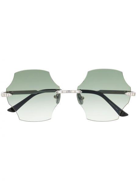 Золотистые муслиновые желтые солнцезащитные очки Anna Karin Karlsson