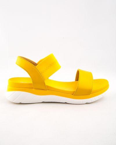 Желтые туфли из искусственной кожи Stefaniya Nina