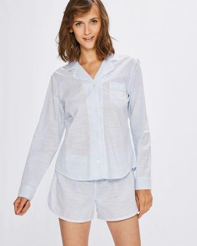 Рубашка с поясом на резинке Lauren Ralph Lauren