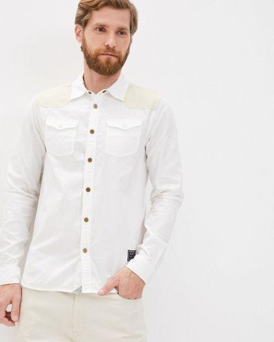 С рукавами белая рубашка Scotch&soda