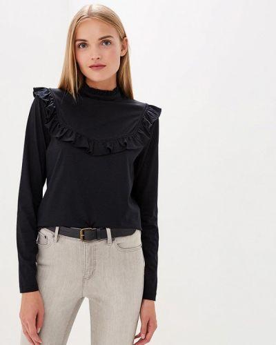 Черный лонгслив Polo Ralph Lauren