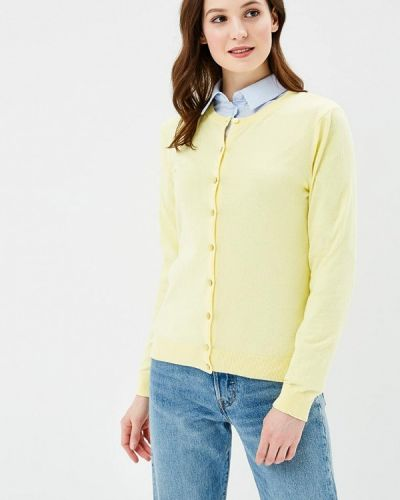 Желтый кардиган United Colors Of Benetton
