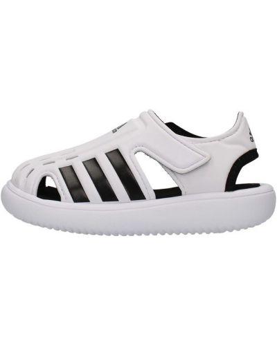 Białe sandały Adidas