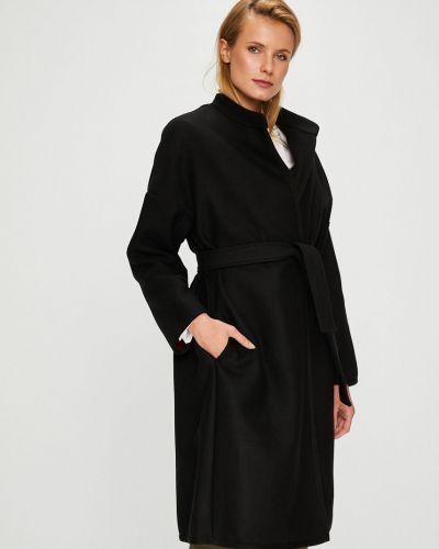 Куртка с поясом в полоску облегченная Pinko