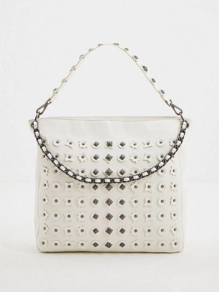 Кожаная сумка шоппер весенний John Richmond