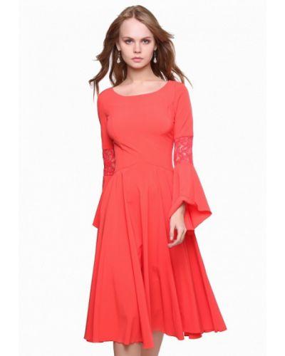 Вечернее платье коралловый весеннее Marichuell
