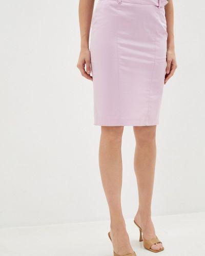 Розовая юбка узкого кроя Trussardi Collection
