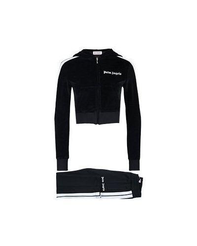 Спортивный костюм черный Palm Angels