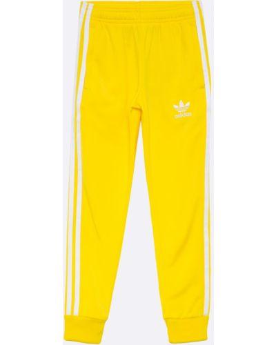 Брюки на резинке желтый Adidas Originals