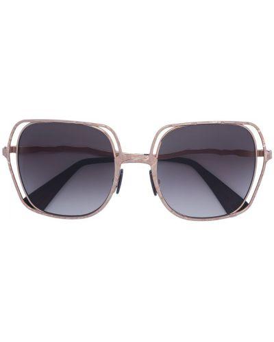 Солнцезащитные очки металлические с градиентом Kuboraum