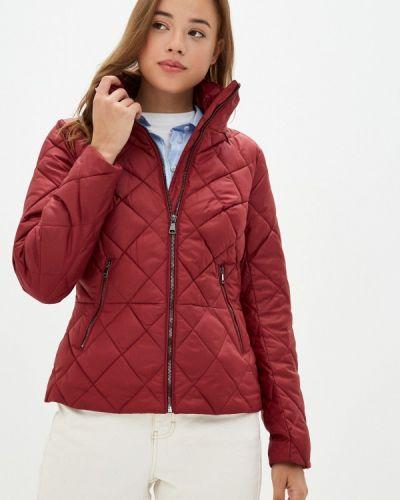 Расклешенная красная теплая свободная утепленная куртка Finn Flare