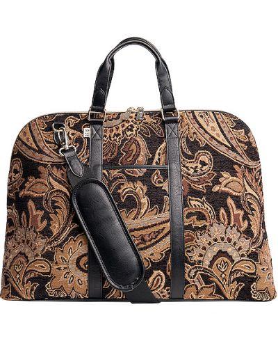 Brązowa torebka z nylonu Beis