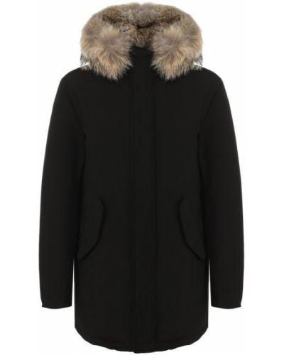 Куртка с капюшоном черная на молнии Lempelius