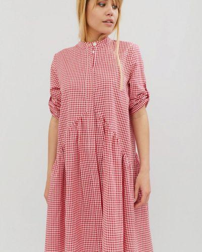 Платье весеннее красный Cardo